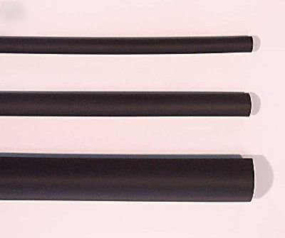 Black Heat Shrink 1 metre - 1m X 2.4mm Dia