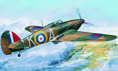 Trumpeter Hurricane Mk 1:Aircraft  1:24 Scale Plastic Model Kit TM02414