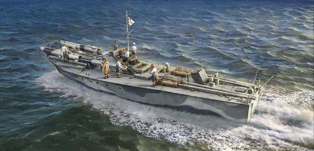 1/35 Vosper 74 Torpedo Boat with Crew
