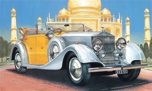 Italeri Rolls-Royce Phantom II 24th Scale Plastic Model Car Kit