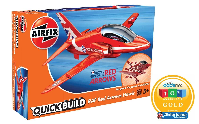 Airfix QUICKBUILD Red Arrows Hawk Plastic Model Kit