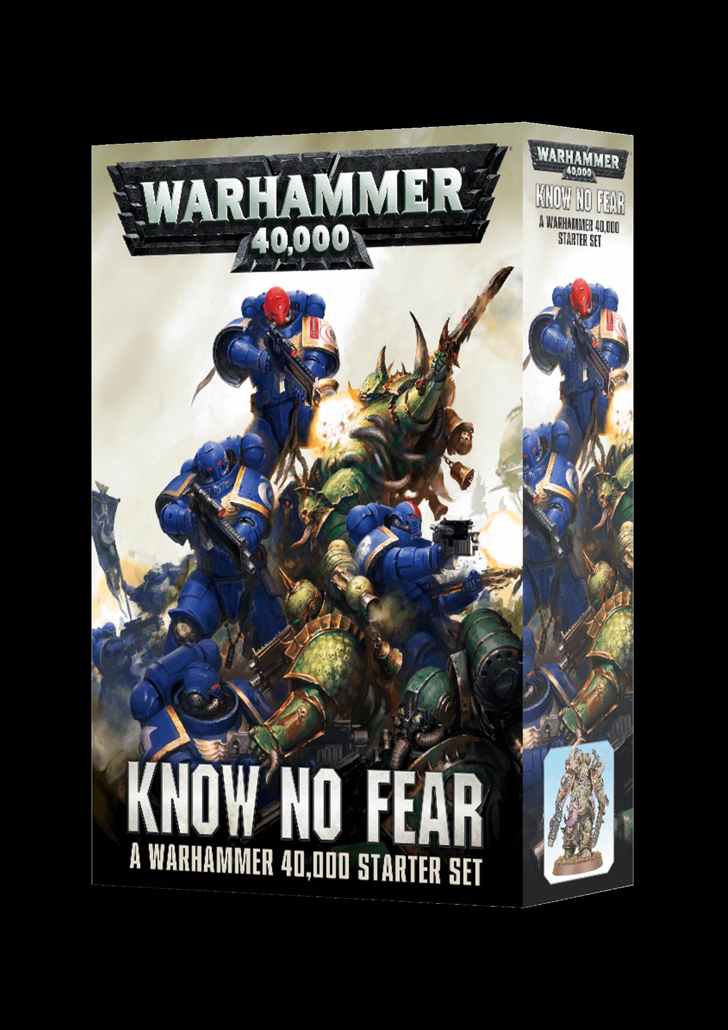Warhammer 40000 Know No Fear Starter Set