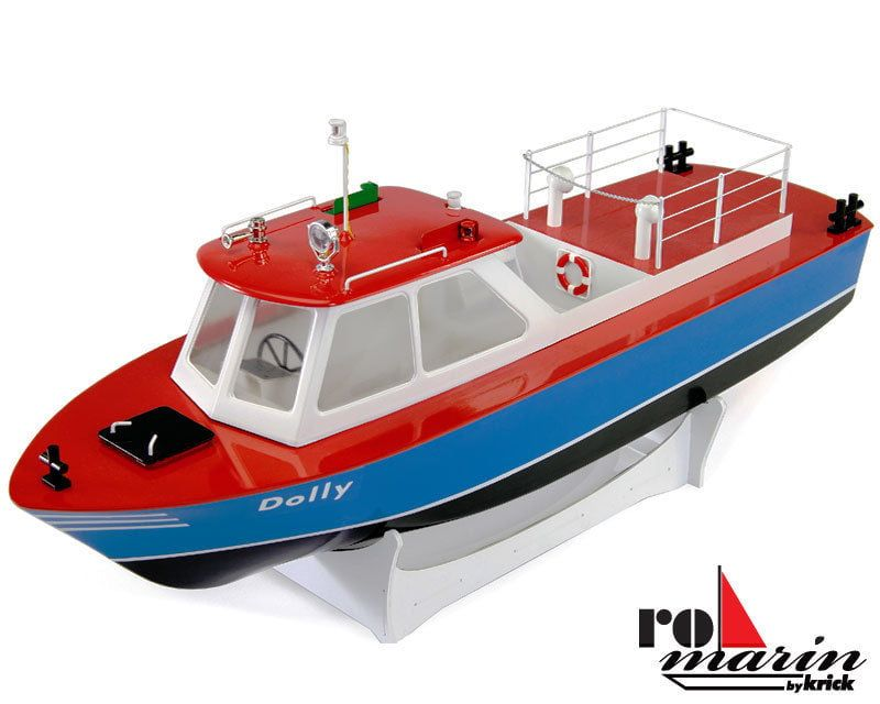 Krick Dolly Harbour Launch 20th Scale Model Boat Kit and Fittings Pack