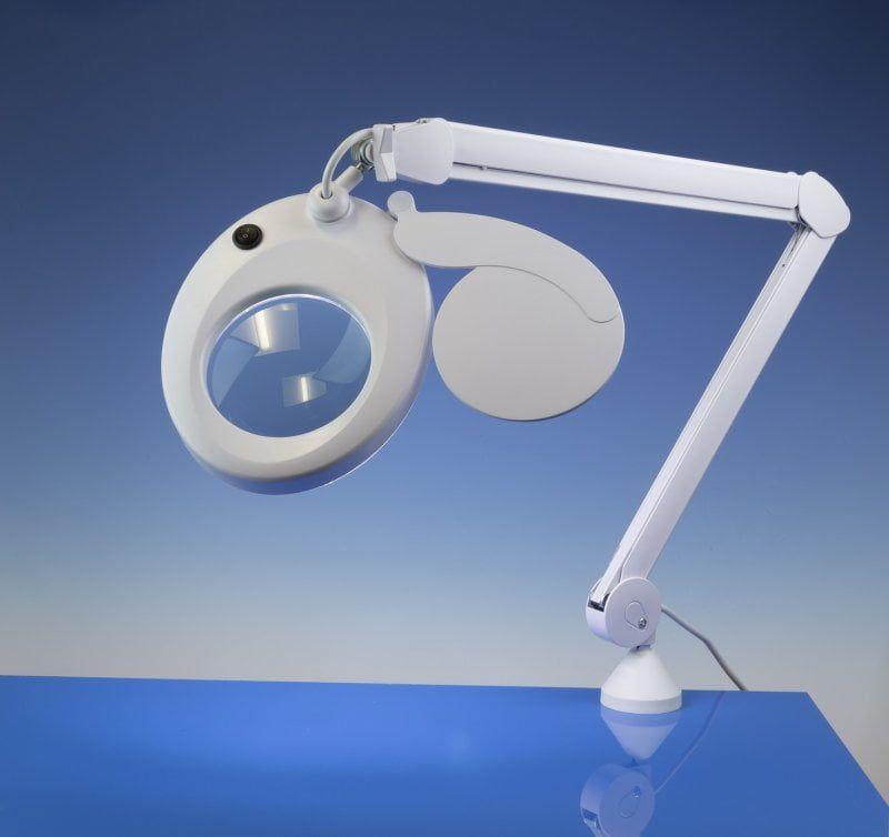 Slim Line LED Magnifier Lamp