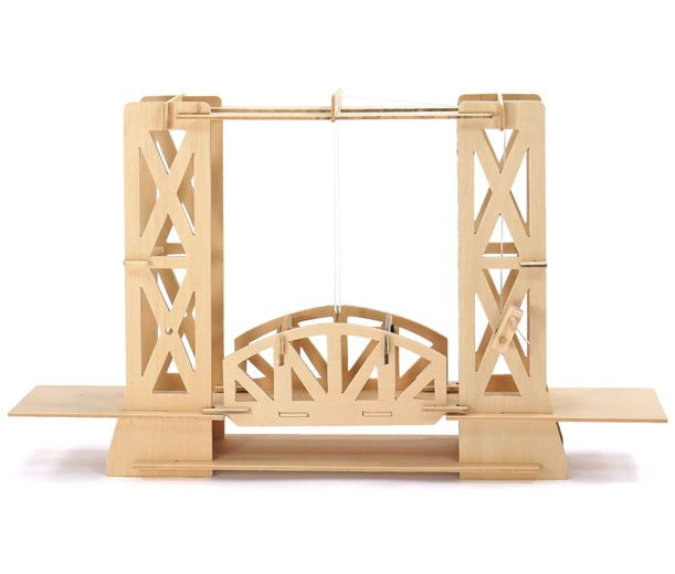 Pathfinders Lift Bridge Educational Wood Kit