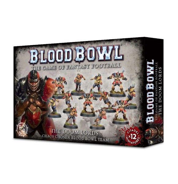 Warhammer The Doom Lords - Chaos Chosen Blood Bowl Team