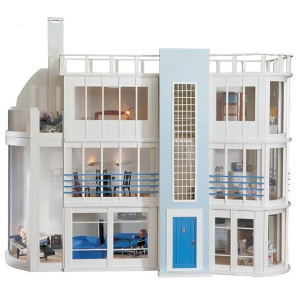 Malibu Beach House Kit and Sun Lounge Kit from Dolls House Emporium