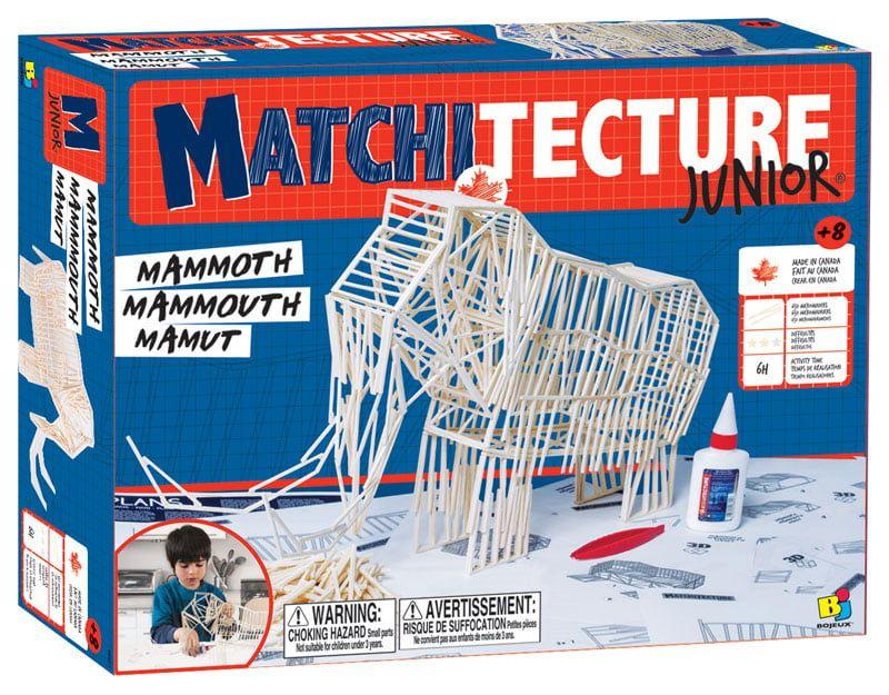 Matchitecture Mammoth Junior Matchstick Model Kit