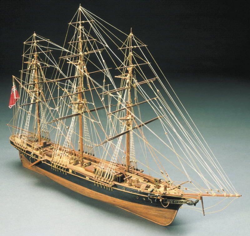 Mantua Models Thermopylae Model Ship Kit - Optional Pre-stitched Sail Set