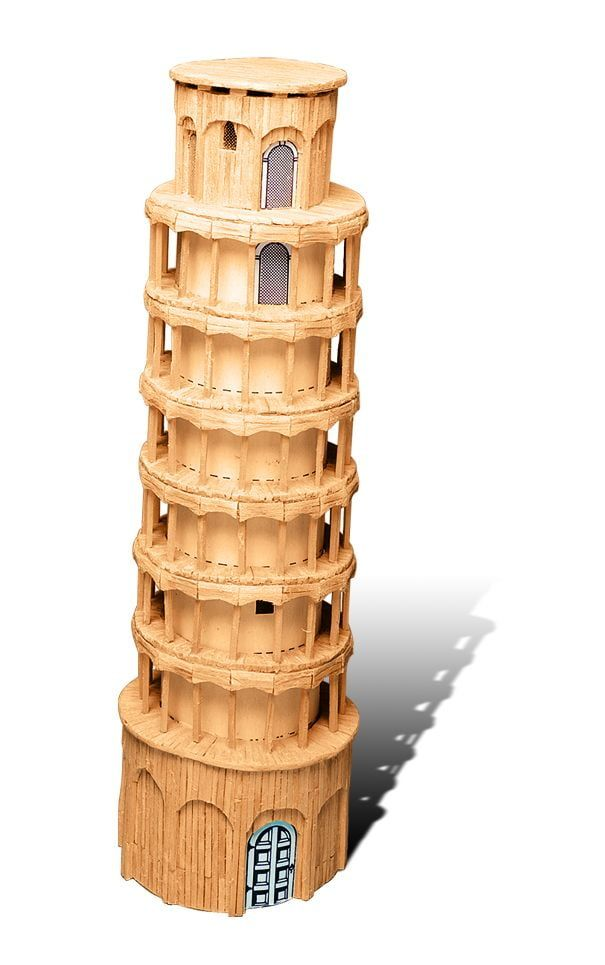 Match Craft Tower of Pisa Matchstick Kit