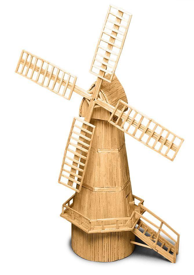 Match Craft Dutch Windmill Matchstick Kit
