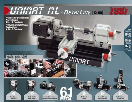 Unimat 6 in 1 MetalLine ML Modular Power Tool System