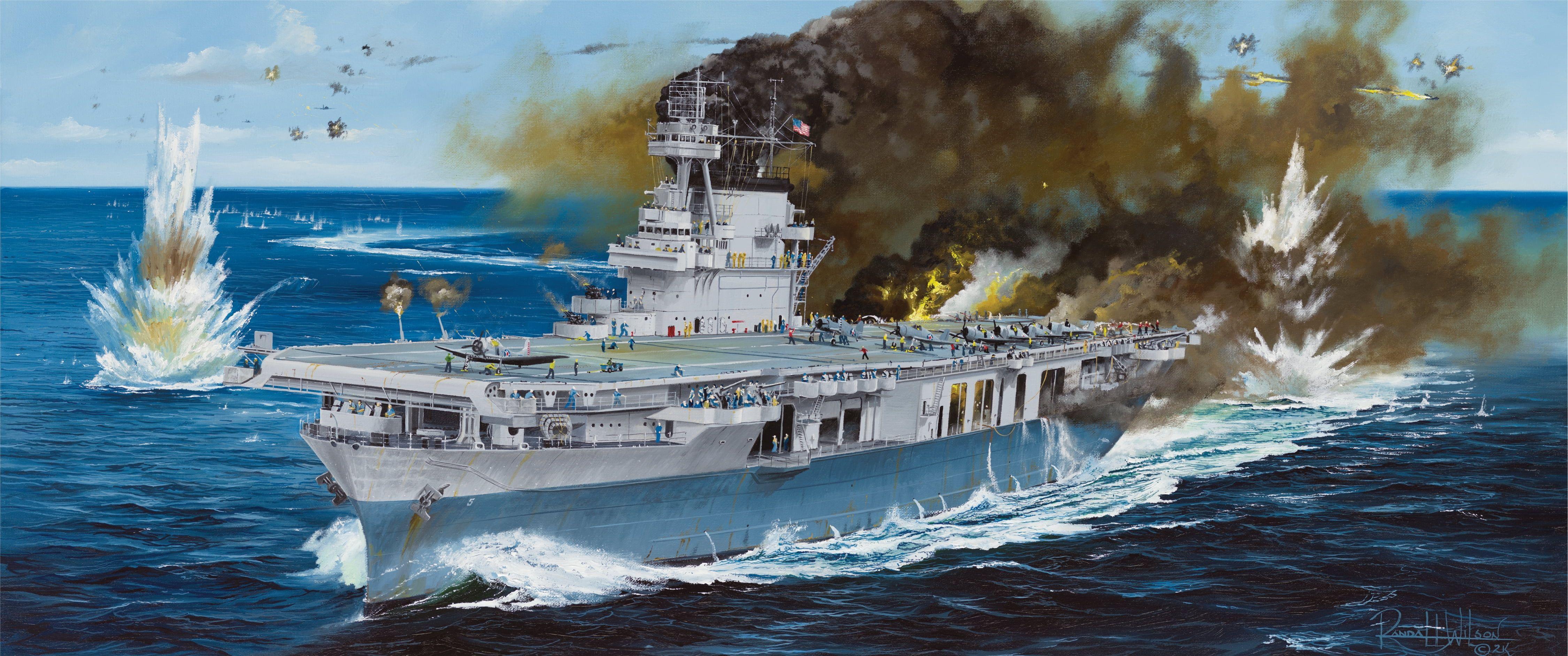 USS Yorktown CV-5 Kit