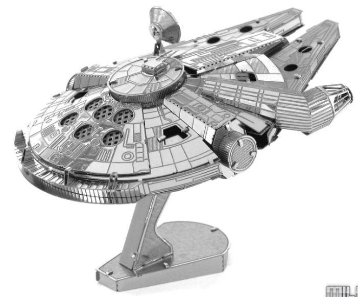 Star Wars Millennium Falcon Metal Earth 3D Laser Cut Model Kit