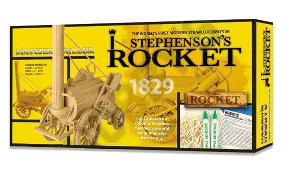 Matchmodeller Stephensons Rocket Steam Locomotive Match Kit