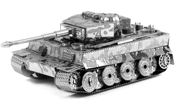 Metal Earth Tiger 1 Tank 3D Laser Cut Model