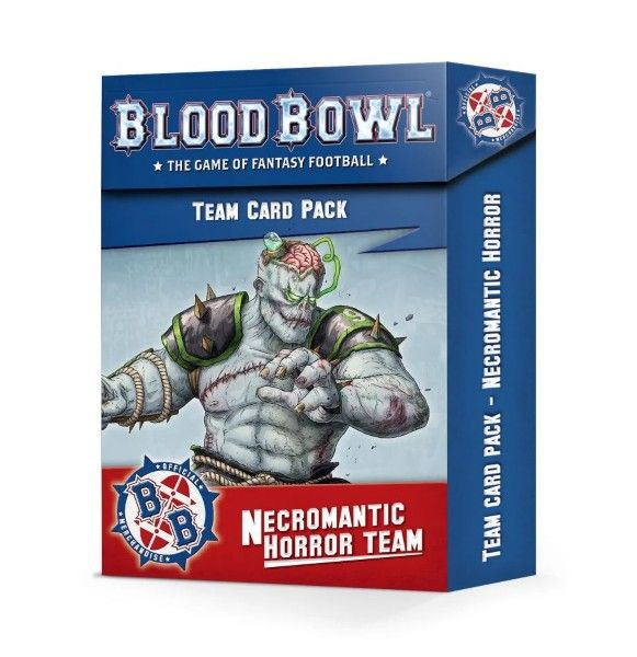 Warhammer Blood Bowl Necromantic Horror Team Card Pack