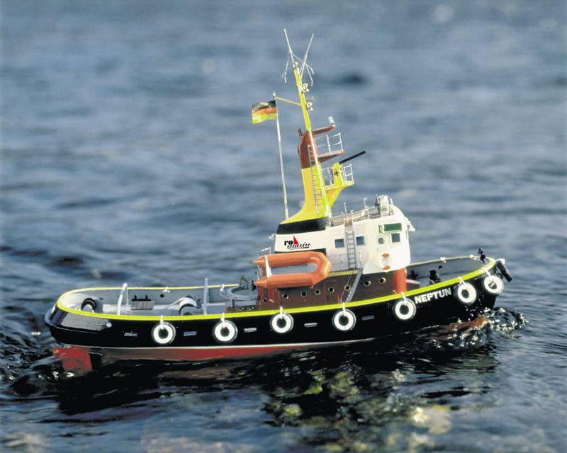 Neptun Tug Boat including Fittings Kit 1 50 Scale Krick Robbe RC Model Kit