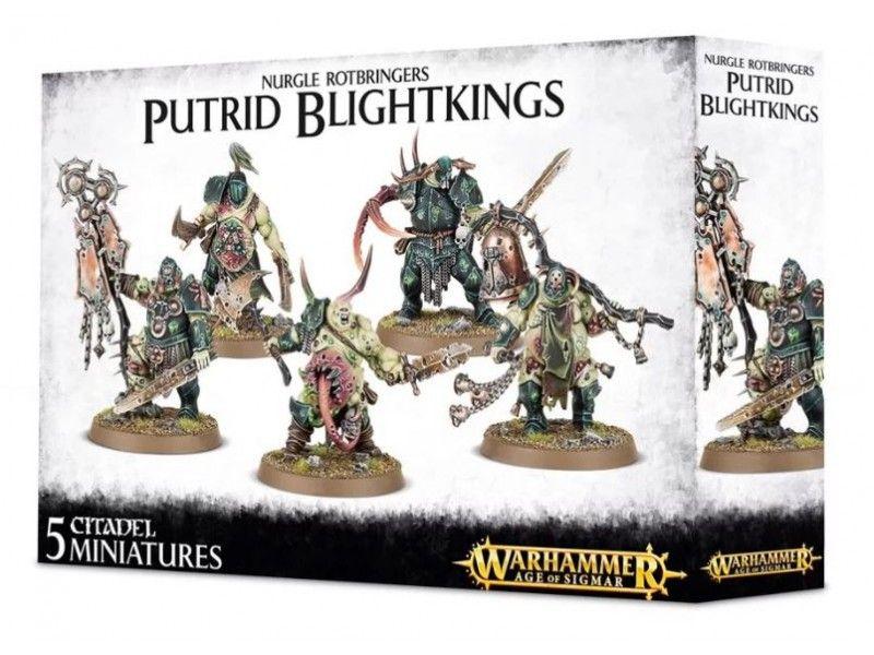 Warhammer Nurgle Rotbringers Putrid Blightkings