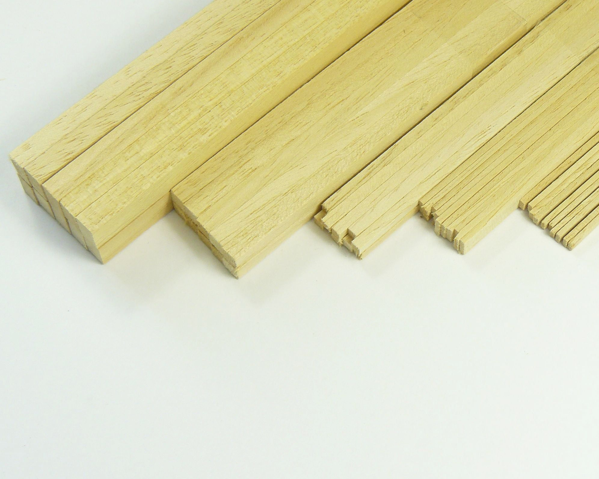 Obeche Stripwood Bundles of 10