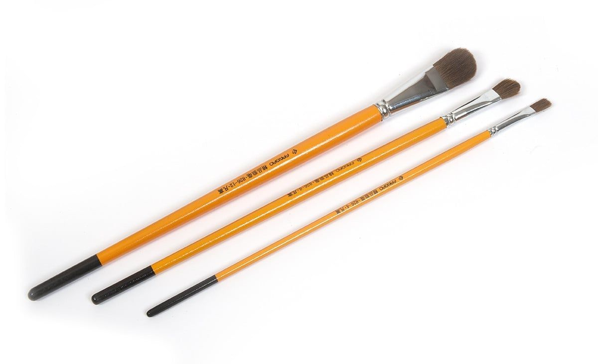 Occre Set of 3 Brushes