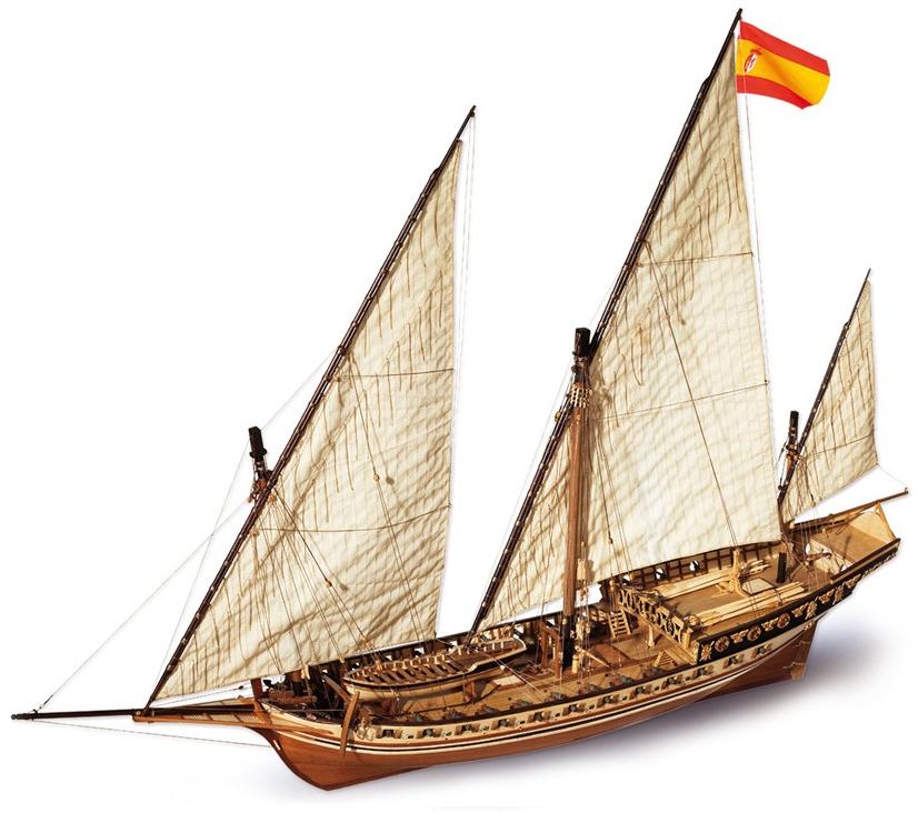 Occre Xebec Cazador Period Ship Kit