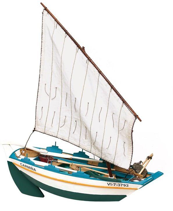Occre Gamela Carmina 1:15 Scale Model Gamella Boat Kit