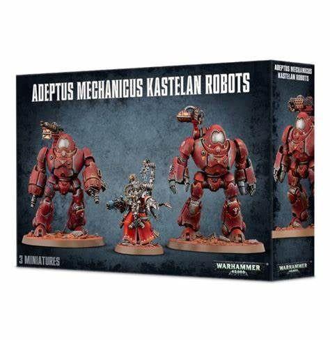 Warhammer Adeptus Mechanicus Kastelan Robots