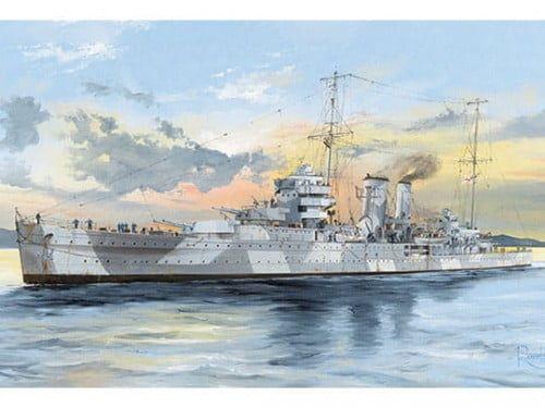 Trumpeter HMS York 1:350 Scale Plastic Kit