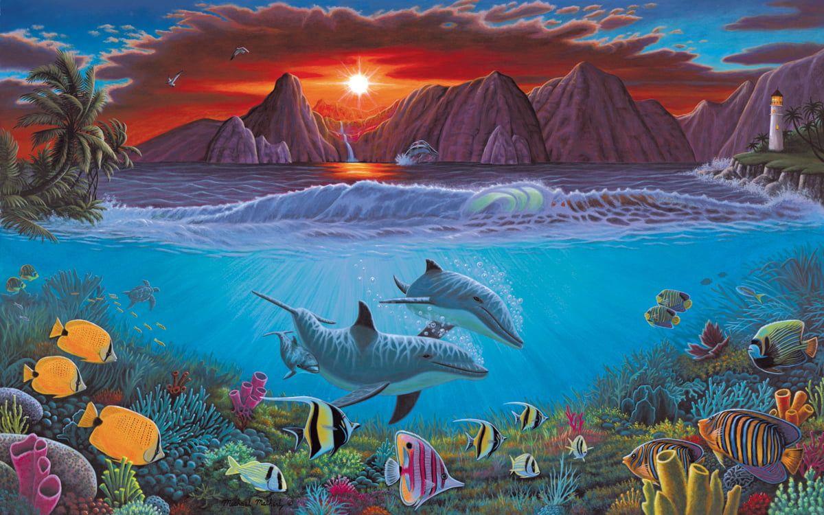 Painting By Numbers Ocean Life