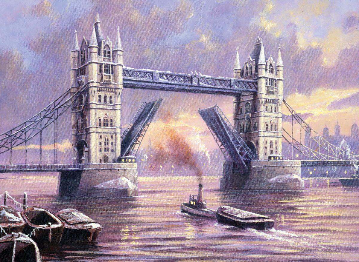 Painting By Numbers London Tower Bridge