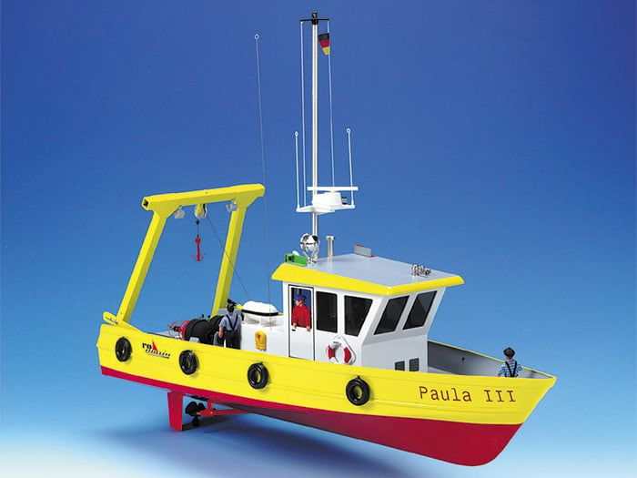 Paula Work Ship with Salvage Crane Kit