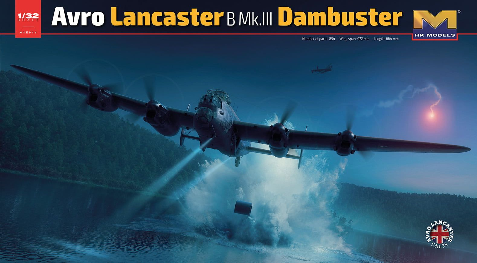 HK Models Avro Lancaster B Mk.III Dambuster