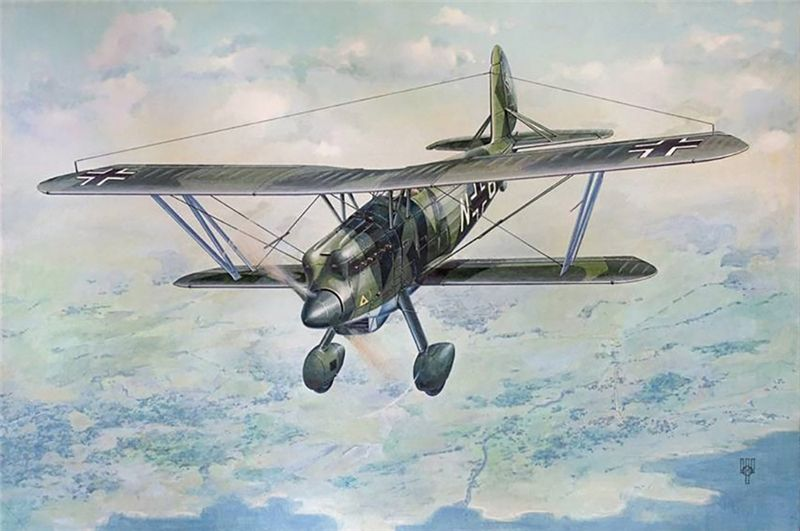Roden 1/48 Scale Arado Ar 68F-1 Plastic Model Kit