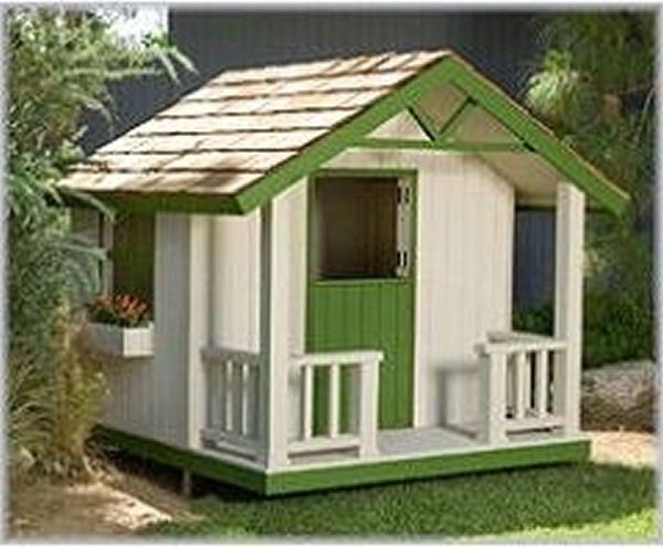 Cottage Playhouse Plan