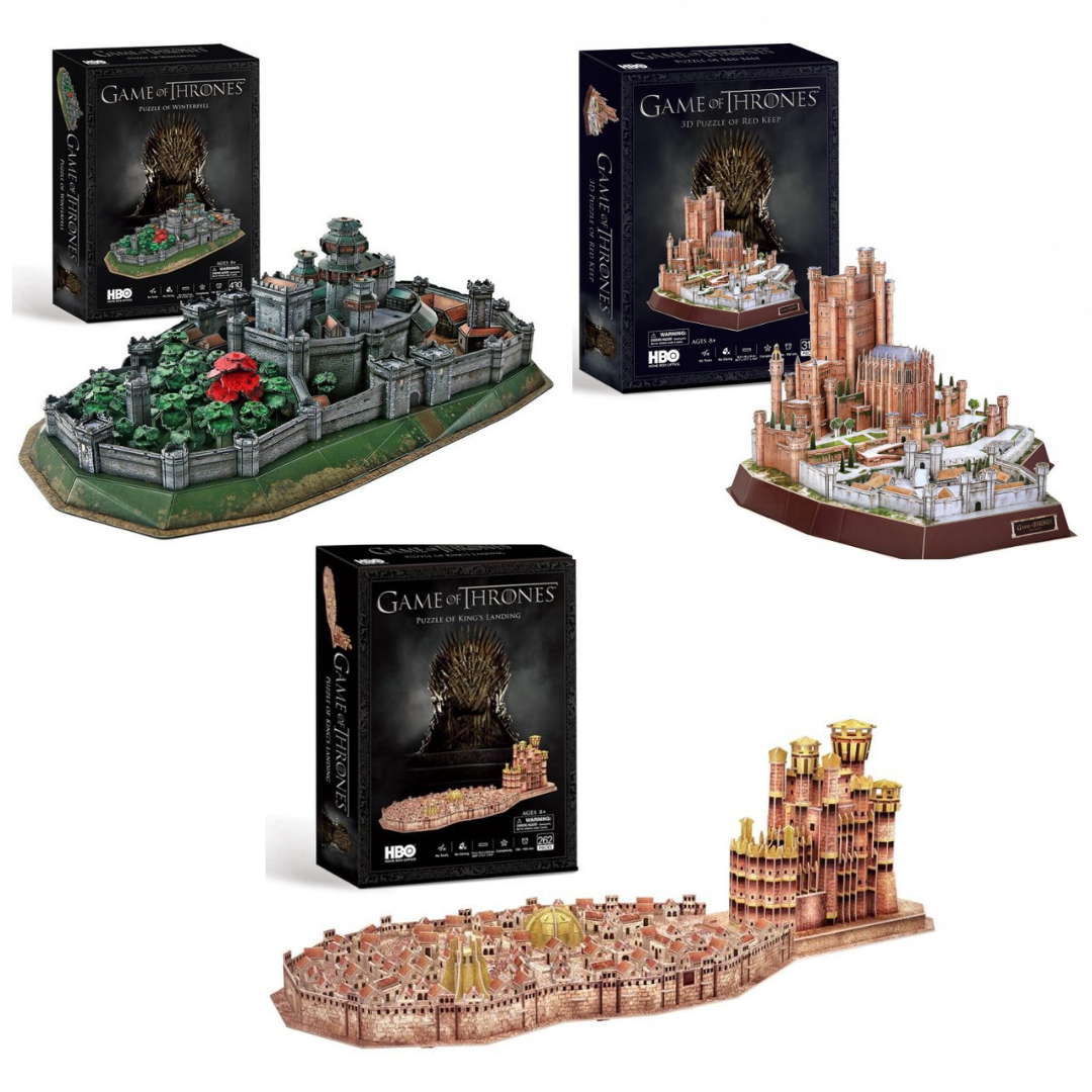 Games of Thrones 3D Puzzle Deal