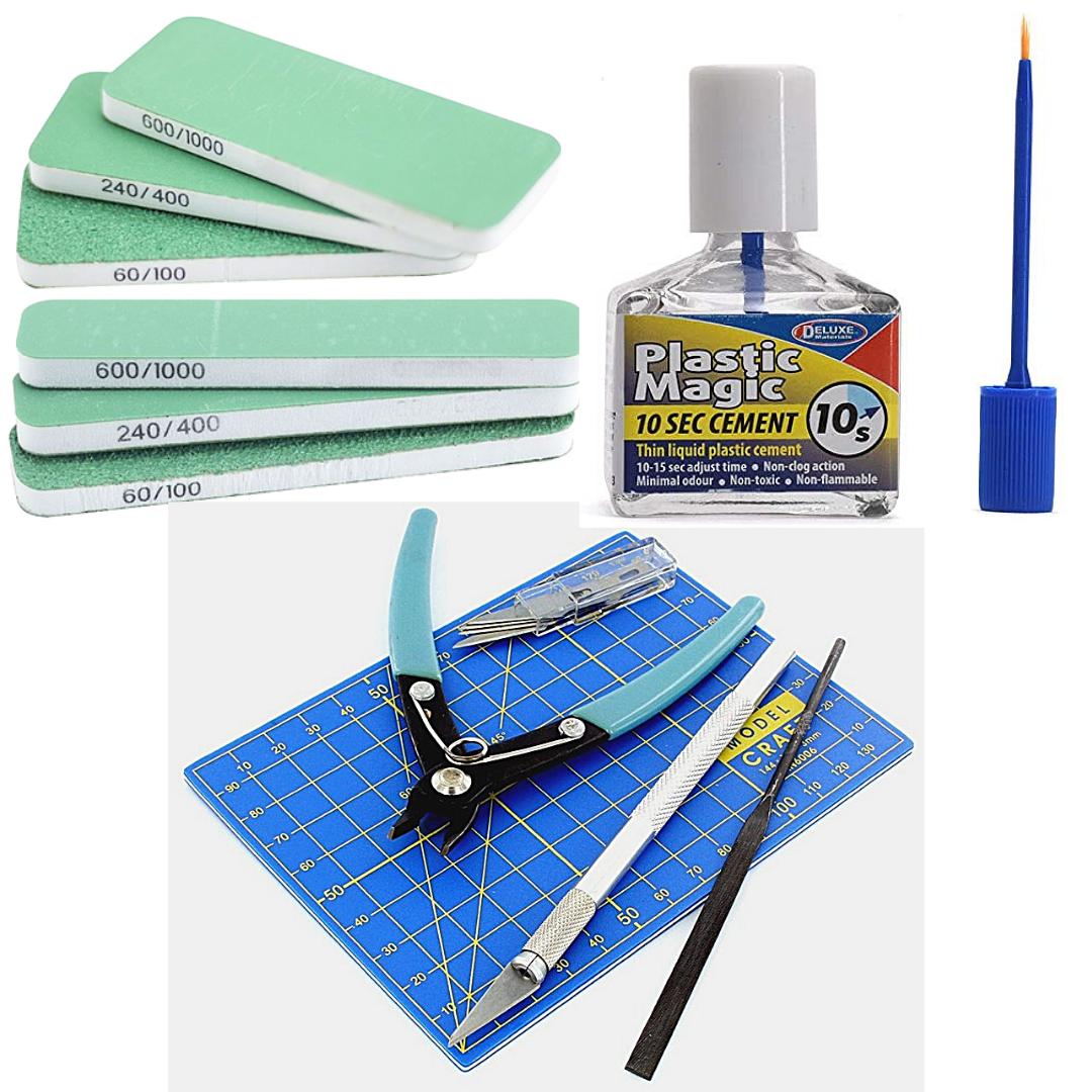 Plastic Model Tool Set Deal