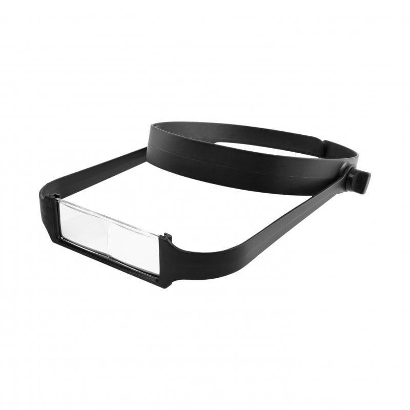 Slimline Headband Magnifier with 4 Lenses