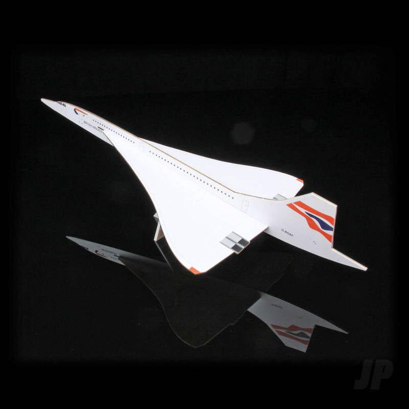 Concorde Alpha Foxtrot Balsa Aircraft Kit