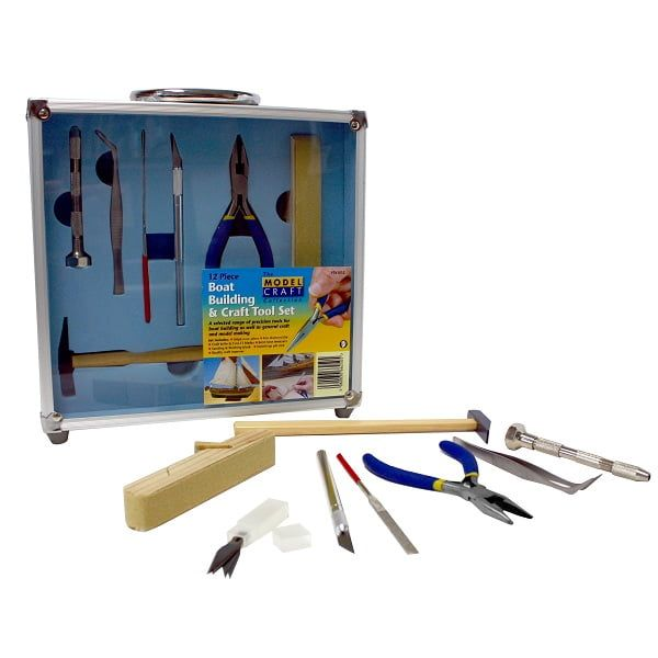 12 Piece Boat Building and Craft Tool Set