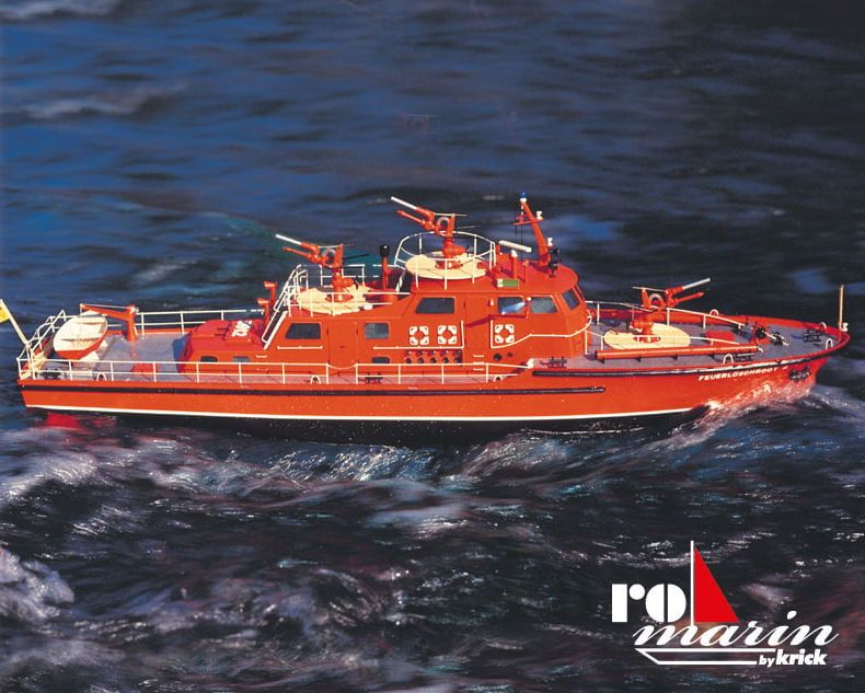 Krick Dusseldorf Fire Fighting Boat Kit