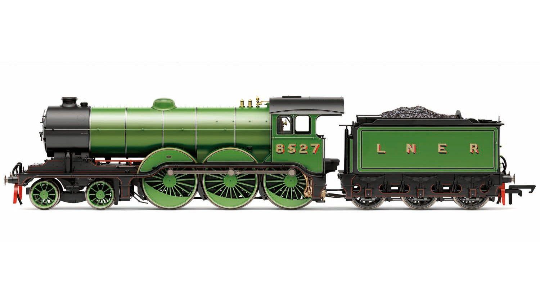 LNER, B12 Class, 4-6-0, 8527 - Era 3