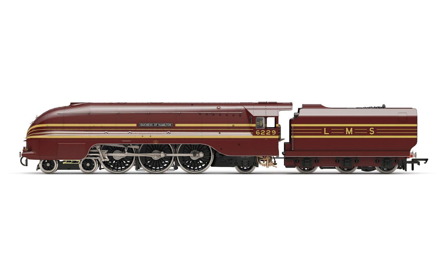 LMS, Princess Coronation Class, 4-6-2, 6229 Duchess of Hamilton - Era 3