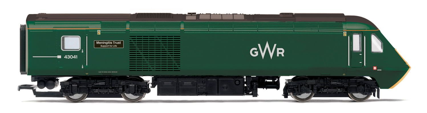 GWR, Class 43 HST, Power Cars 43041 'Meningitis Trust Support for Life' and 43005 - Era 11