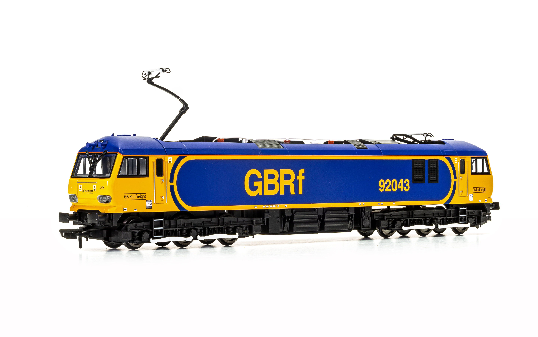 GBRf Europorte, Class 92, Co-Co, 92043 'Debussy' - Era 11