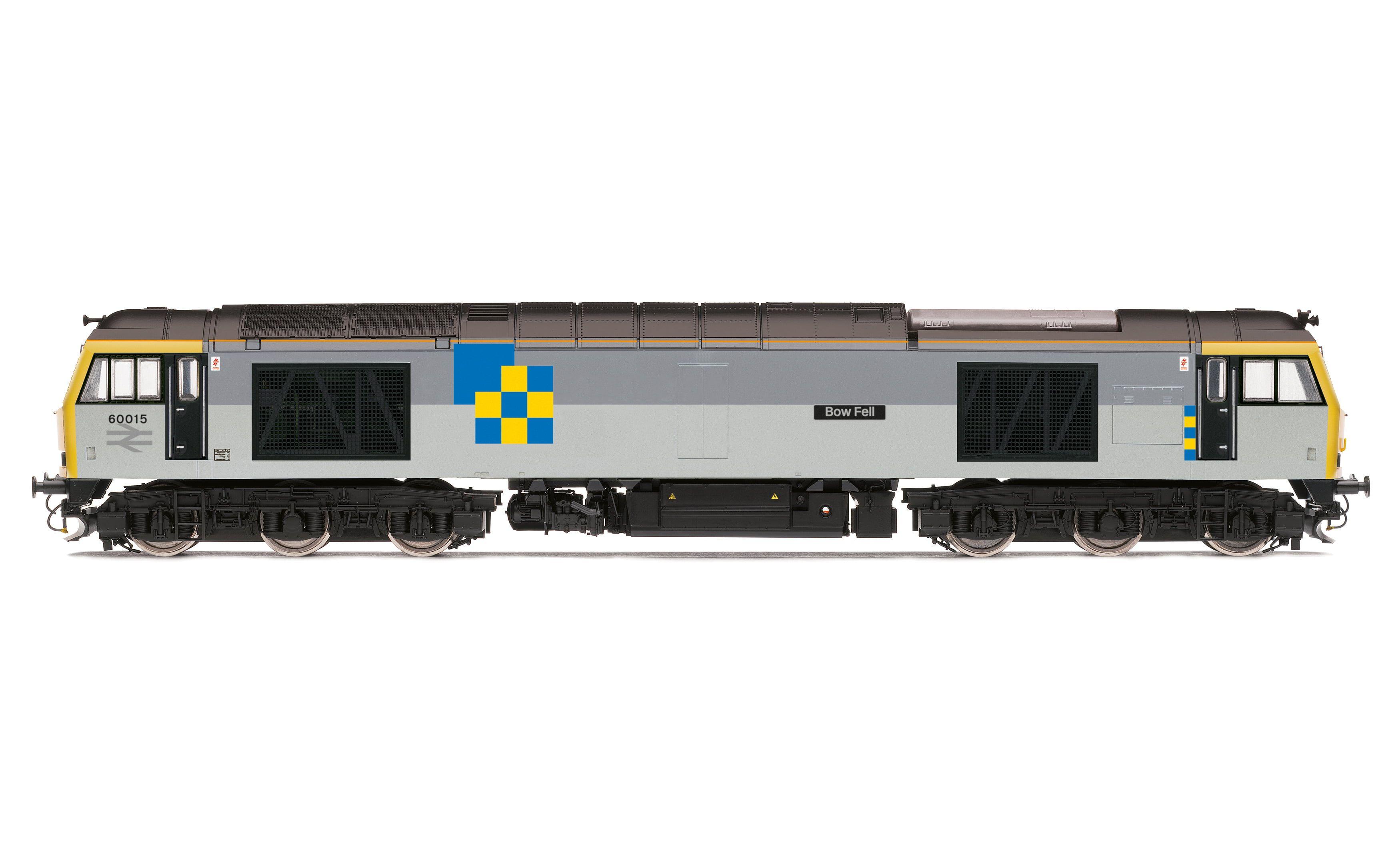 BR Railfreight, Class 60, Co-Co, 60015 'Bow Fell' - Era 8