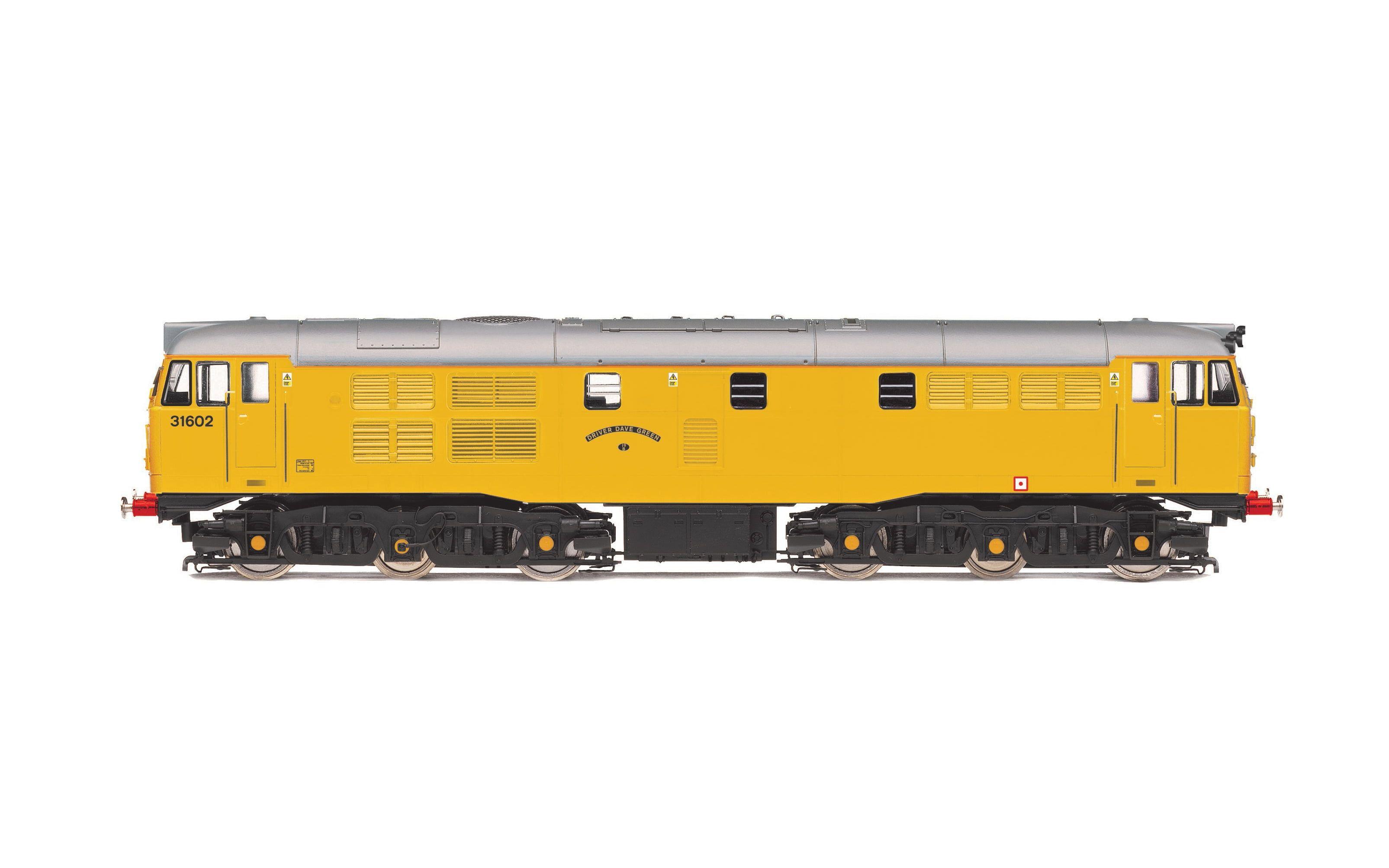 Network Rail, Class 31, A1A-A1A, 31602 'Driver Dave Green' - Era 9