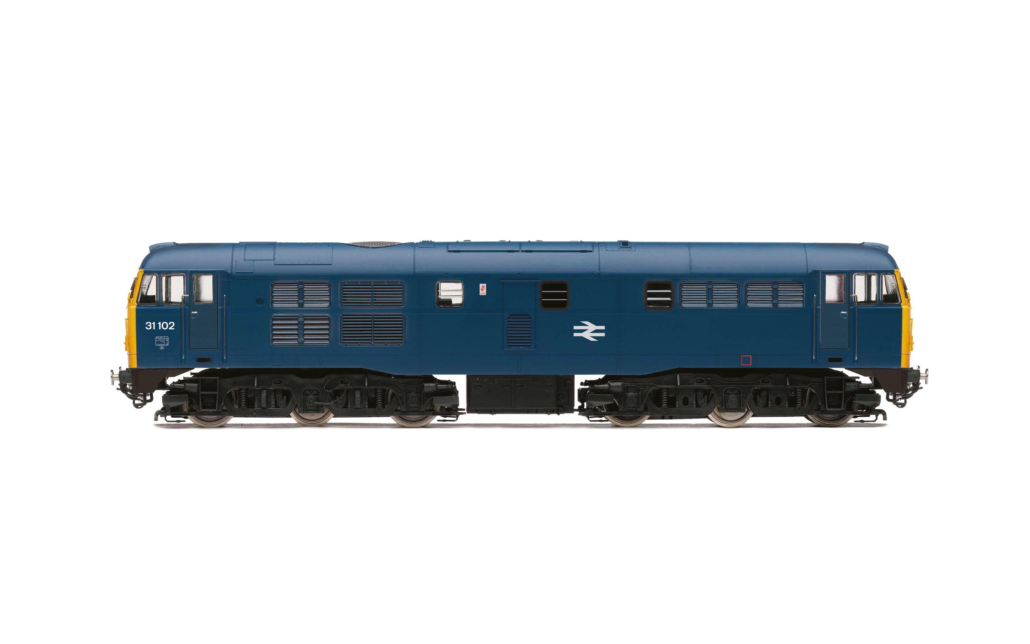 BR, Class 31, A1A-A1A, 31102 - Era 7