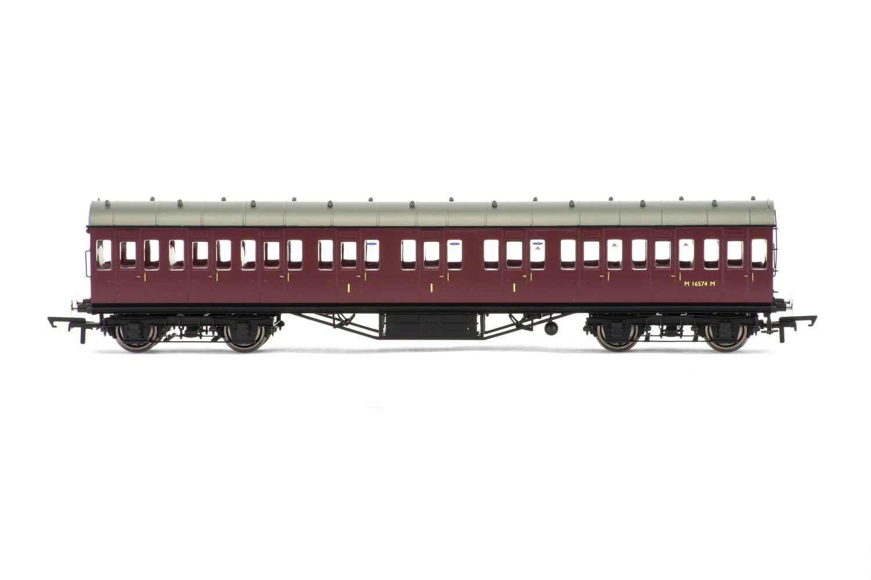 BR, 57' Stanier Non-Corridor Composite, M16574M - Era 5