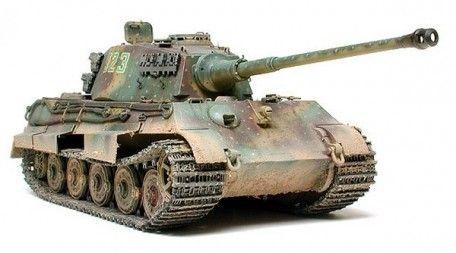 Tamiya German King Tiger Production Turret 1:35 Scale Plastic Model Tank Kit